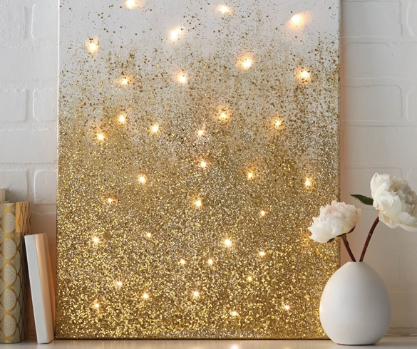 Add Light with DIY Decor - 13585