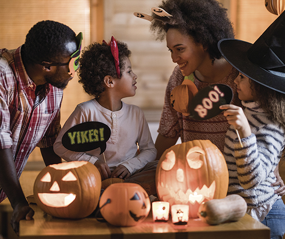 Safety Steps for Spooky Fun - 15413