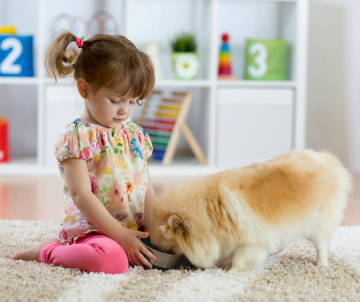 4 Ways Kids can Benefit from Growing Up With Pets