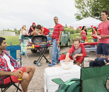 A Tailgating Game Plan