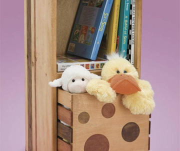 Clever Storage for Kids' Rooms