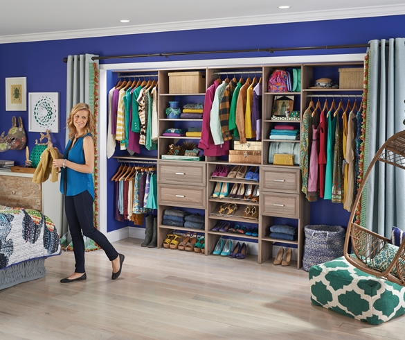 Shop Your Way to an Organized Closet - 13382
