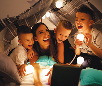 Create a Family-Friendly 'Staycation' : 5 ways to fill your home with happiness