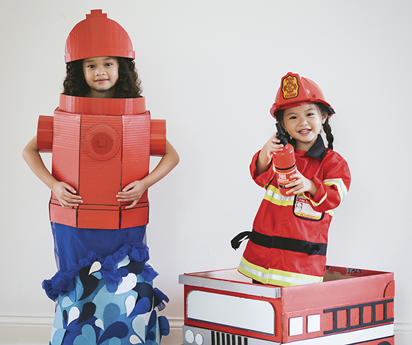 An Outside-the-Box, DIY Halloween Costume Combination - 15409