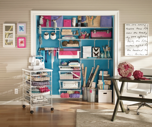 organized crafting room - 11810