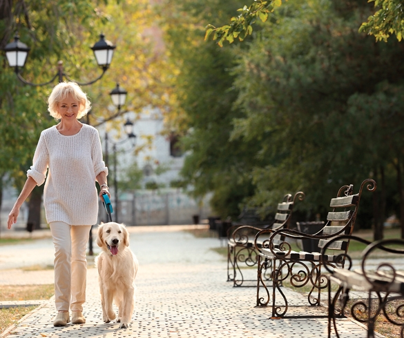 3 Ways Pups Can Improve Seniors' Health - 13926