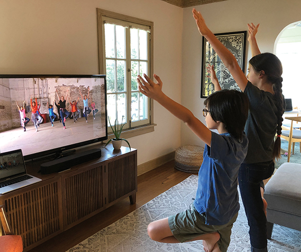 Kids Can Save Lives by Getting Active at Home - 15244