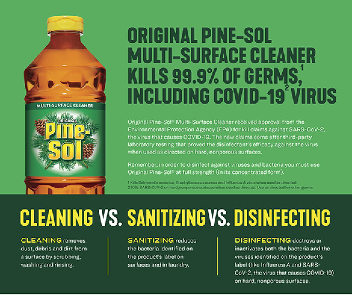 A Difference-Making Disinfectant