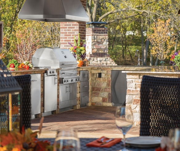 Enjoy Your Outdoor Kitchen All Year Long - 13887