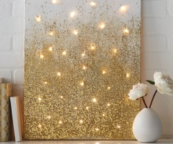 Add Light with DIY Decor