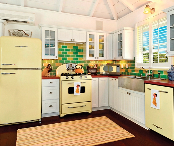 Bring New Life to Your Kitchen with Color - 14396