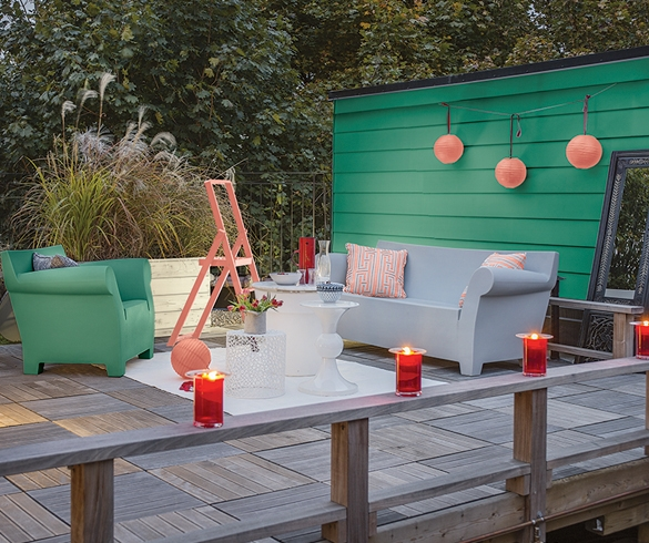 Deck furniture and decorating - 13271