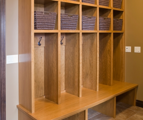 Mudroom coat and shoe area. - GEN00056