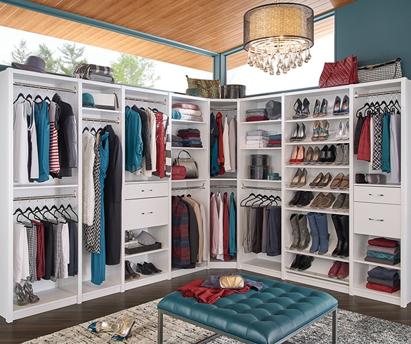 Save Time with a Dream Closet - 13595